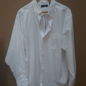 Big/Tall Roundtree & Yorke Easy care lng slv shirt